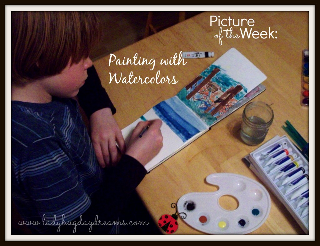 Picture of the Week: Painting with Watercolors
