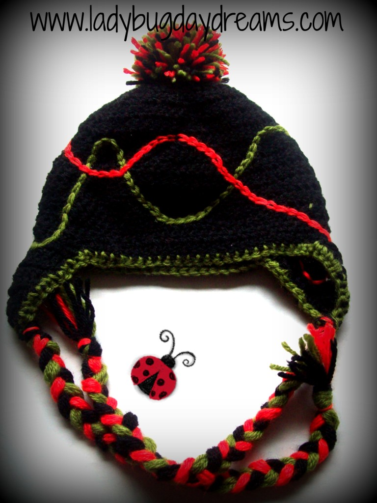 Scribble Hat by Ladybug Daydreams