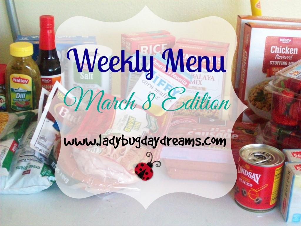 march 8 menu