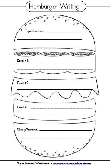 Worksheets Super Teacher Worksheet super teacher worksheets homeschool curriculum review ladybug using the hamburger worksheet really helped them streamline their ideas into proper paragraphs 5