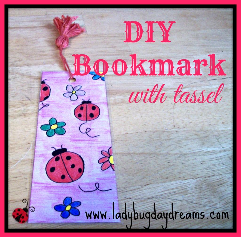 DIY Bookmark header