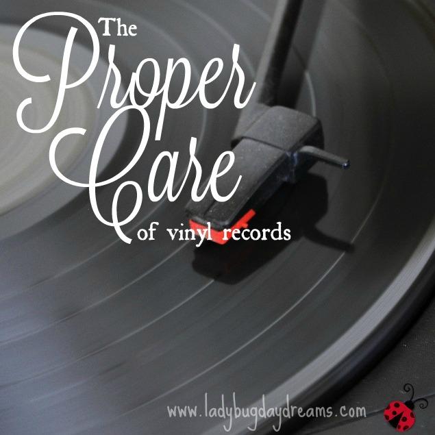 The Proper Care of Vinyl Records