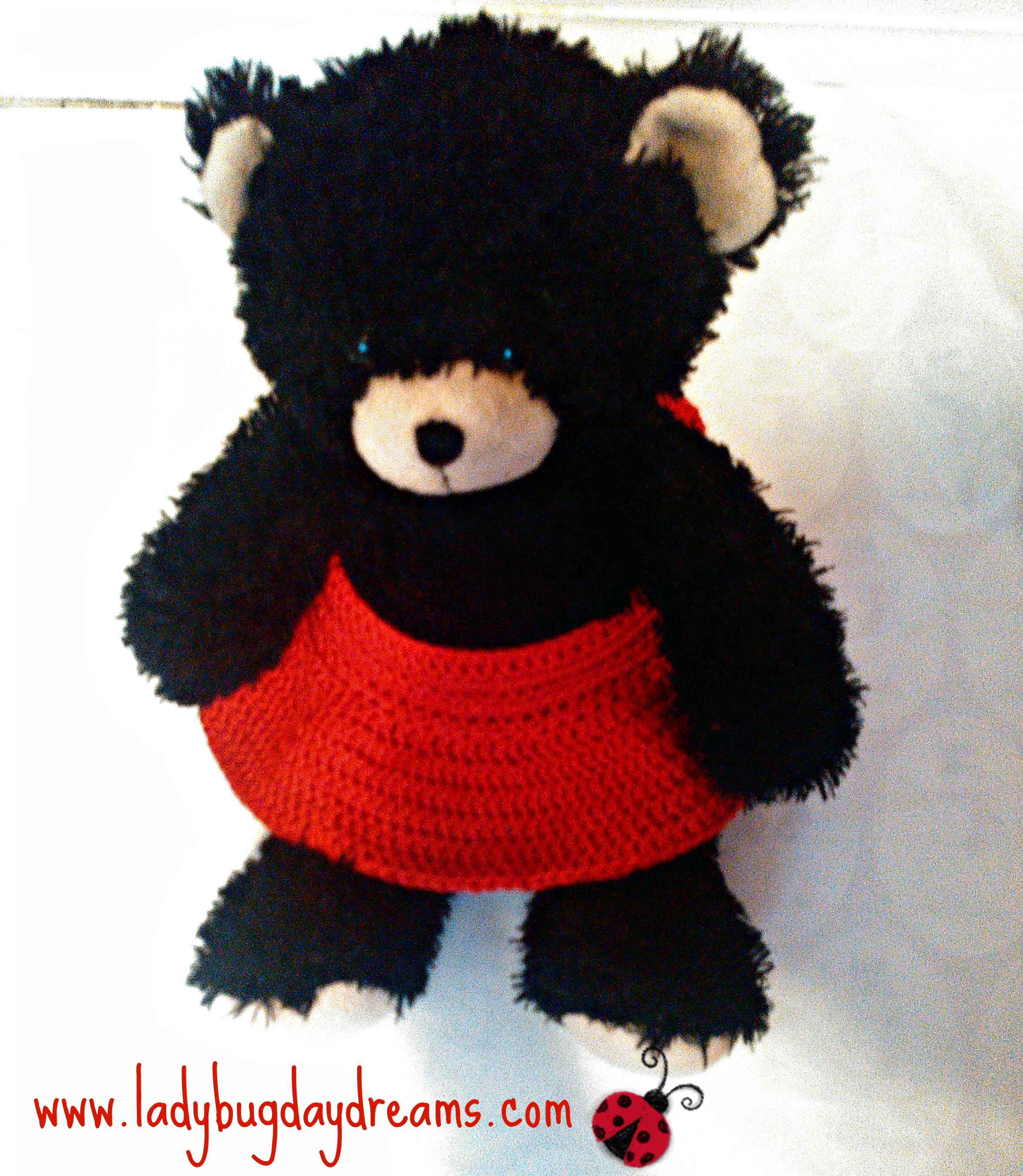 Sleep Tight Teddy Bear Blanket Pattern Crochet Pattern | 2698x2346