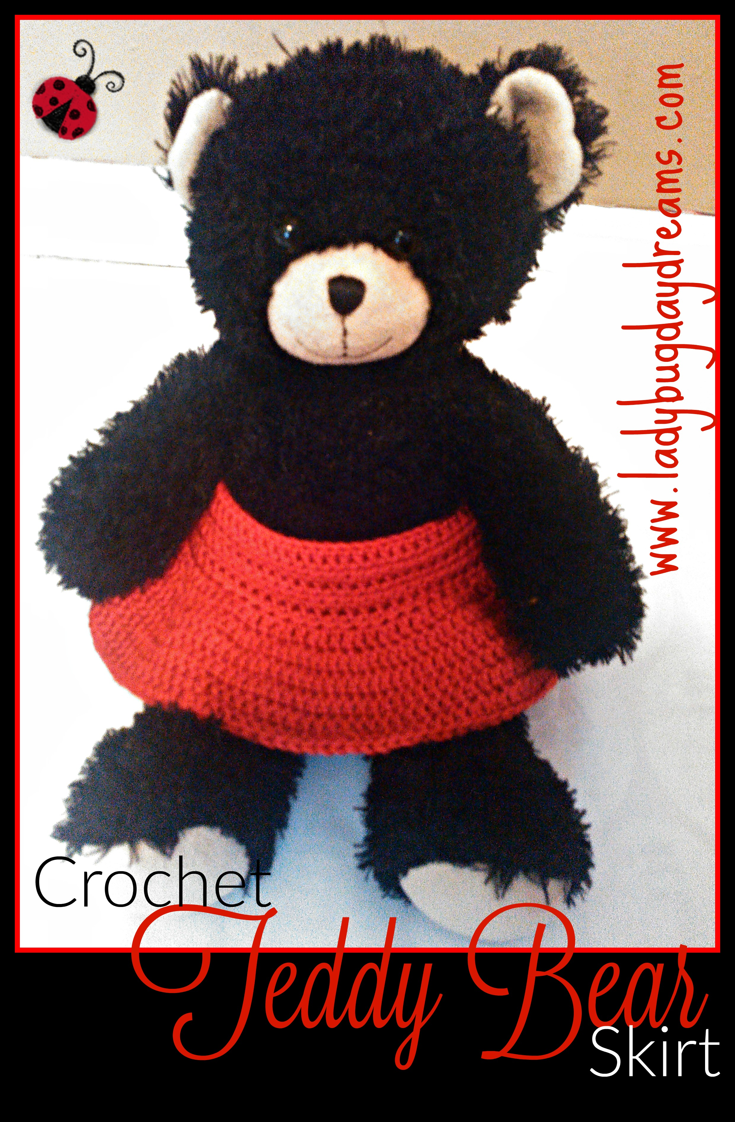 Crochet Teddy Bear Skirt