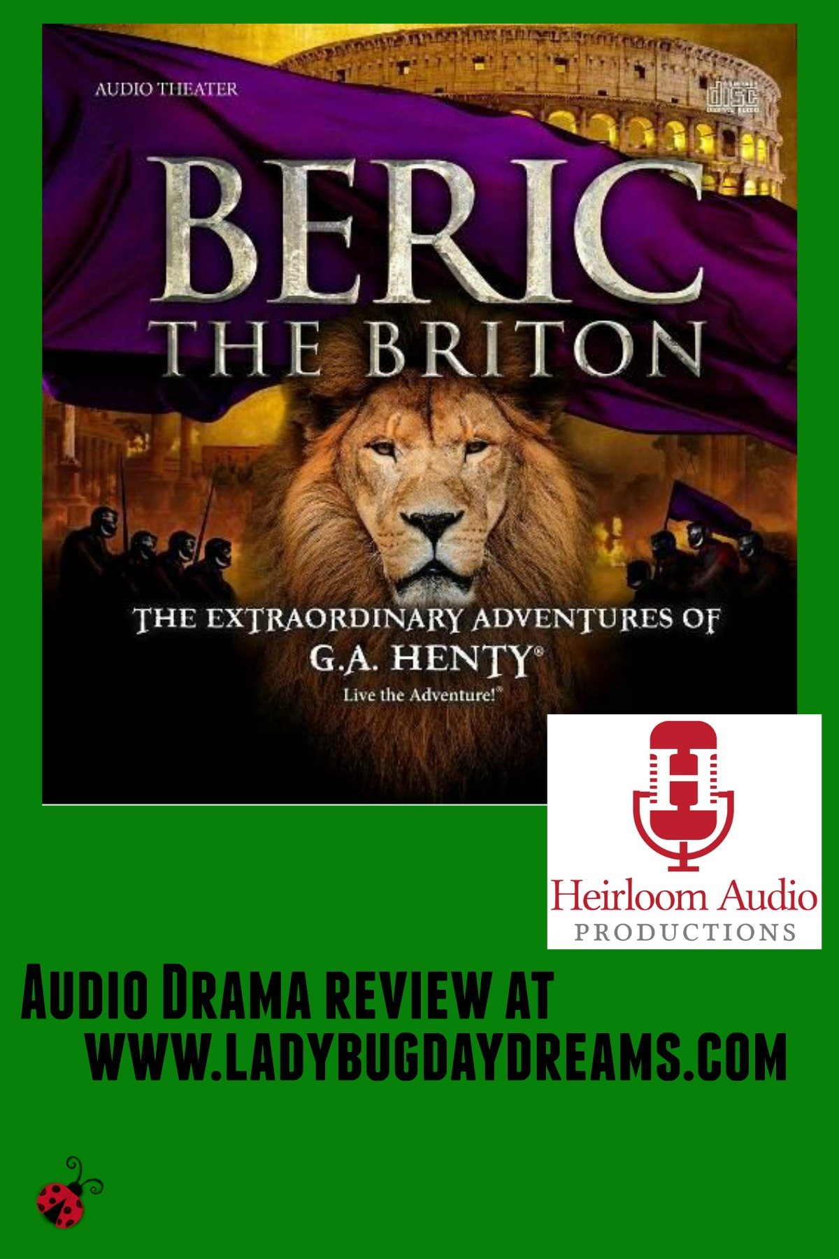 Beric the Briton review at Ladybug Daydreams
