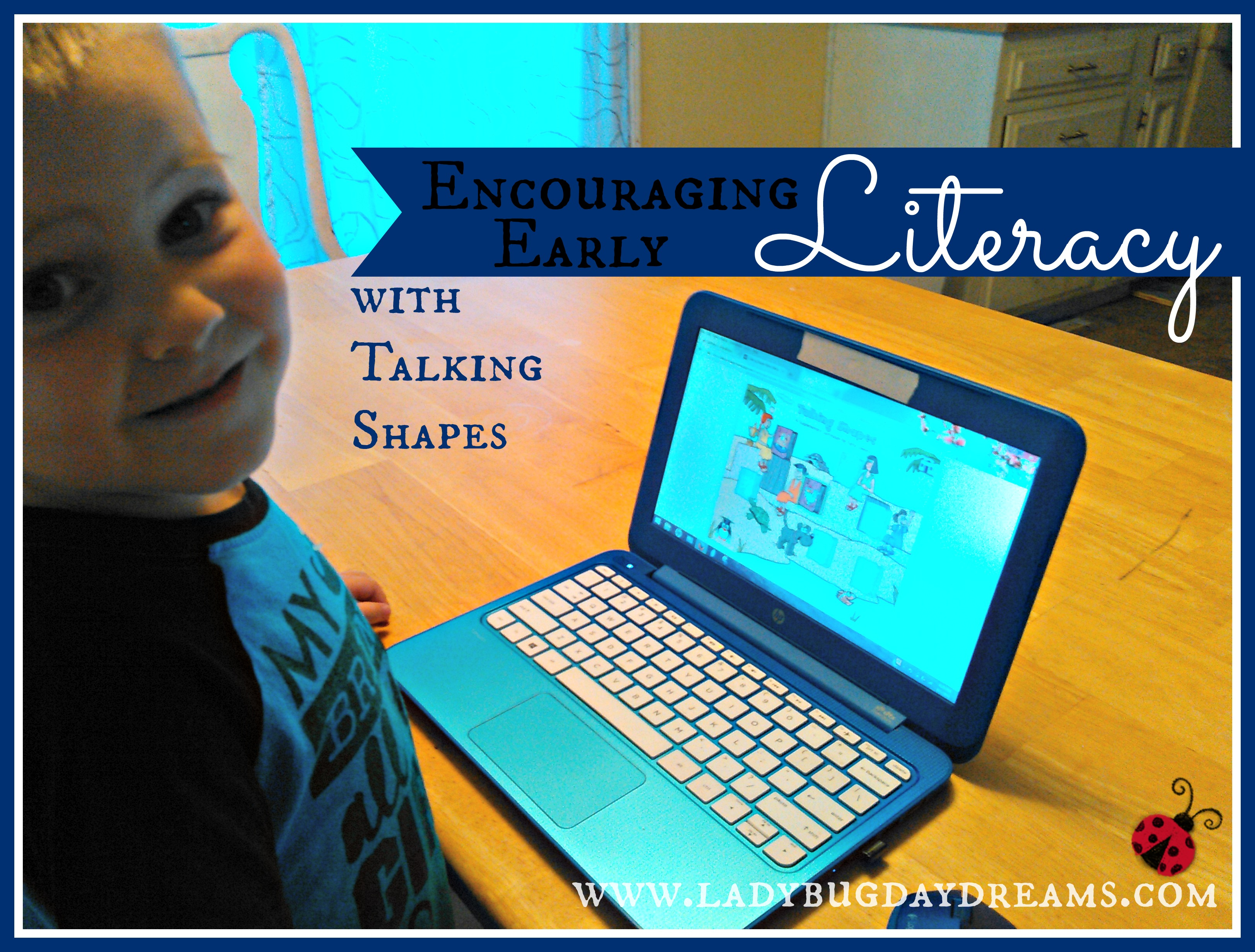 Encouraging Early Literacy with Talking Shapes