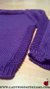 Purple Sweater Flax Hack