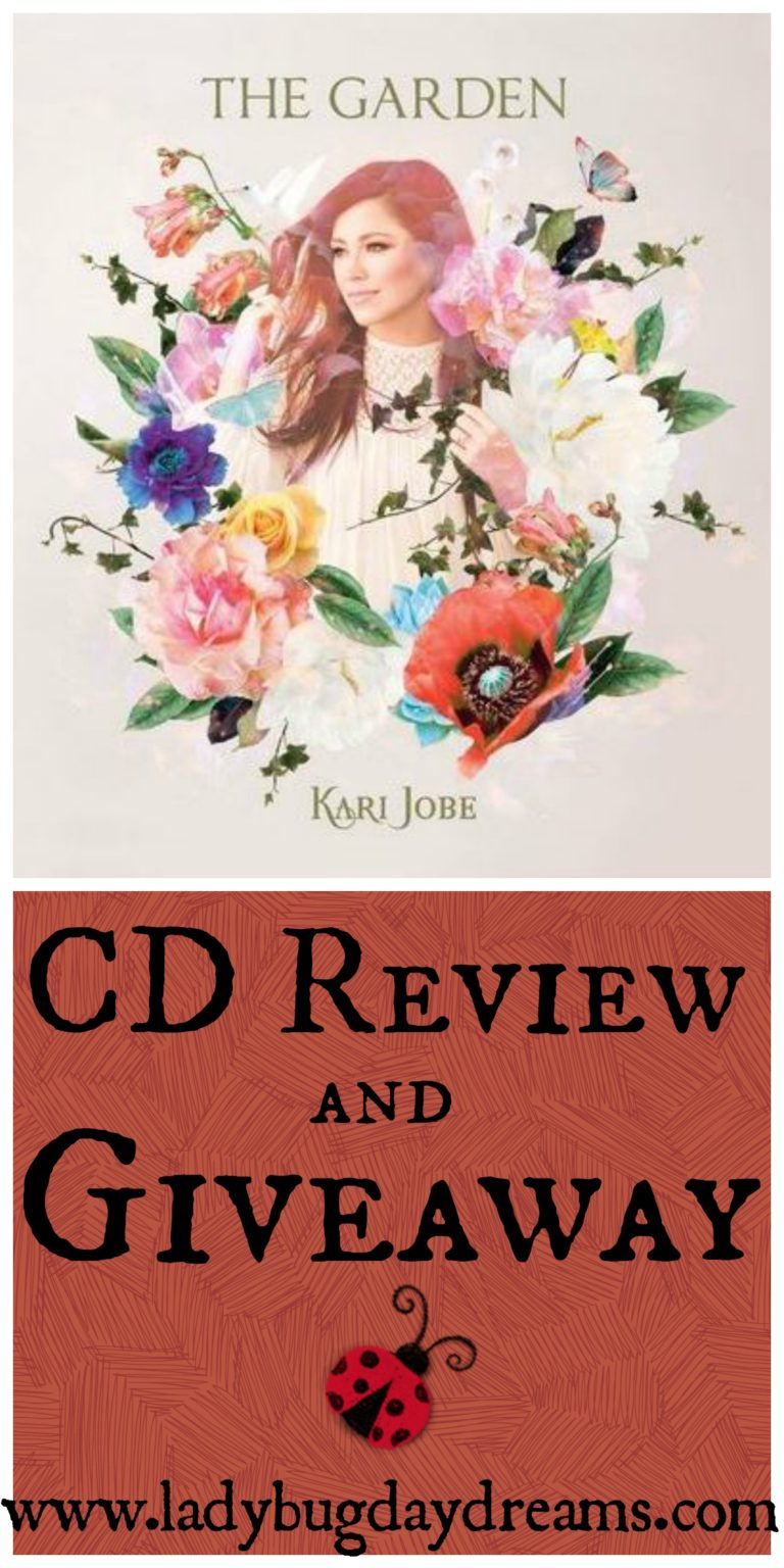 The Garden by Kari Jobe CD Review and Giveaway #flyby #thegarden