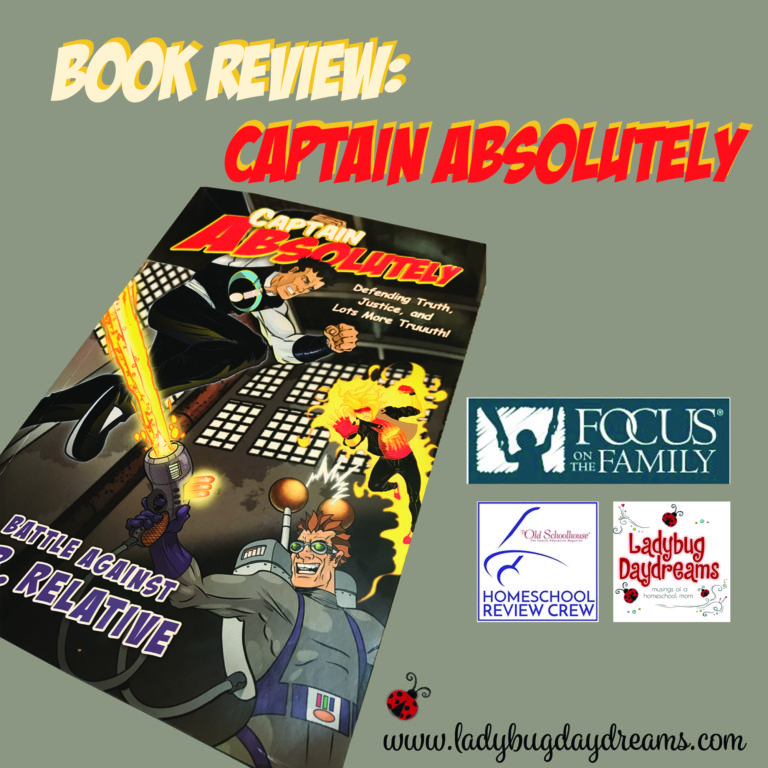 Book Review Captain Absolutely #hsreviews #faith #captainabsolutely #comicbook #character