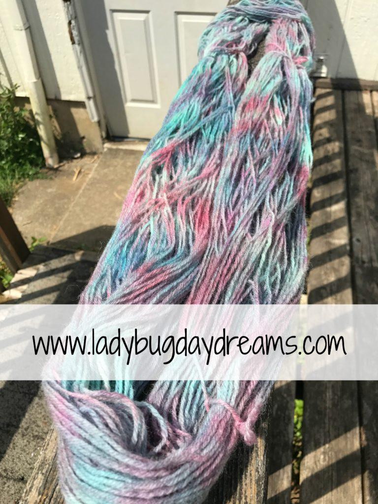 dyed yarn 1