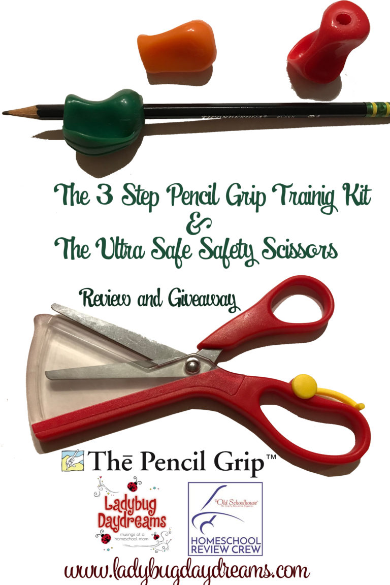 Pencil Grips and Safety Scissors Giveaway