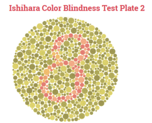 color blind test
