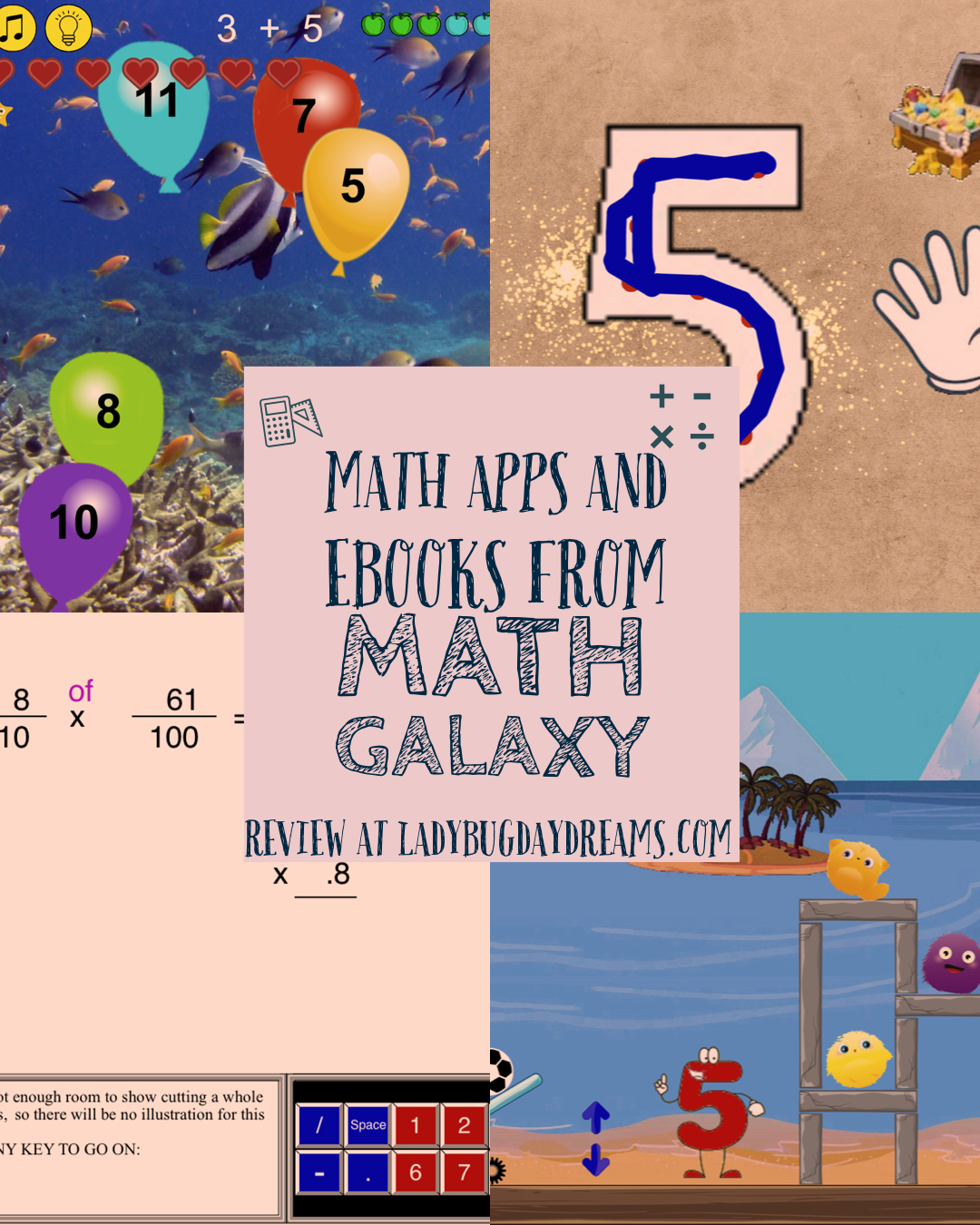 Math Apps for All Ages ~ Math Galaxy review