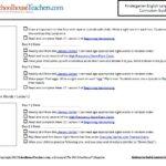 K English sample page