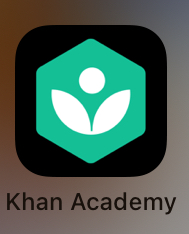 the app icon for khan academy
